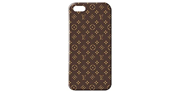 Classic Series Louis with Vuitton Pattern 3D Hard Plastic Case Cover For Iphone 5/5S: Amazon.es: Electrónica