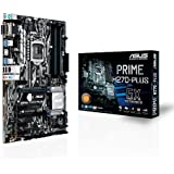 ASUS Computer ASUS Prime H270-Plus Gaming Mainboard Sockel 1151 (ATX, Intel H270, Kabylake, 4X DDR4-Speicher, USB 3.0, M.2 Schnittstelle)