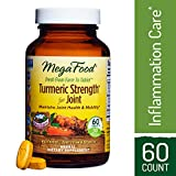 MegaFood – Turmeric Strength for Joint, Curcumin Support for a Healthy Inflammation Response and Comfortable, Flexible Joints with Devil's Claw and Ginger Root, Vegan, Gluten-Free, Non-GMO, 60 Tablets For Sale