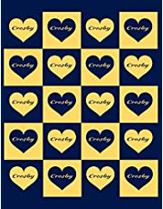 CROSBY: Beautiful Crosby Present - Perfect Personalized Crosby Gift (Crosby Notebook / Crosby Journal)