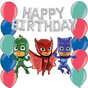 TOYLAND Paquete de Globos PJ Masks Pig Party: con Pancarta ...