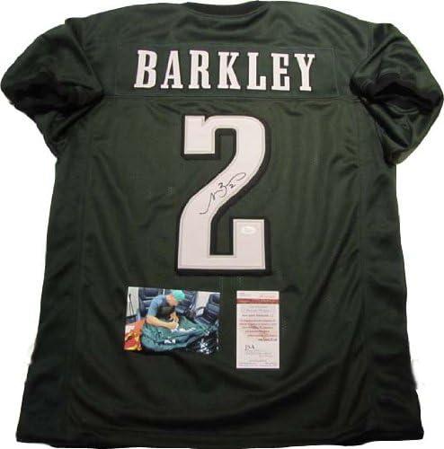 Matt Barkley Autographed Signed Philadelphia Eagles Green Jersey ...