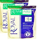 Royal Royal-Aire Y Vacuum Bags 14- Pack This is an O.E.M. authorized part. Fits various Royal Dirt Devil models. OEM Part Number AR10145. Made in United States.