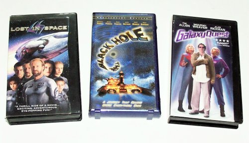 Family Sci-fi Collection: The Black Hole; Lost in Space; Galaxy Quest (3pk)