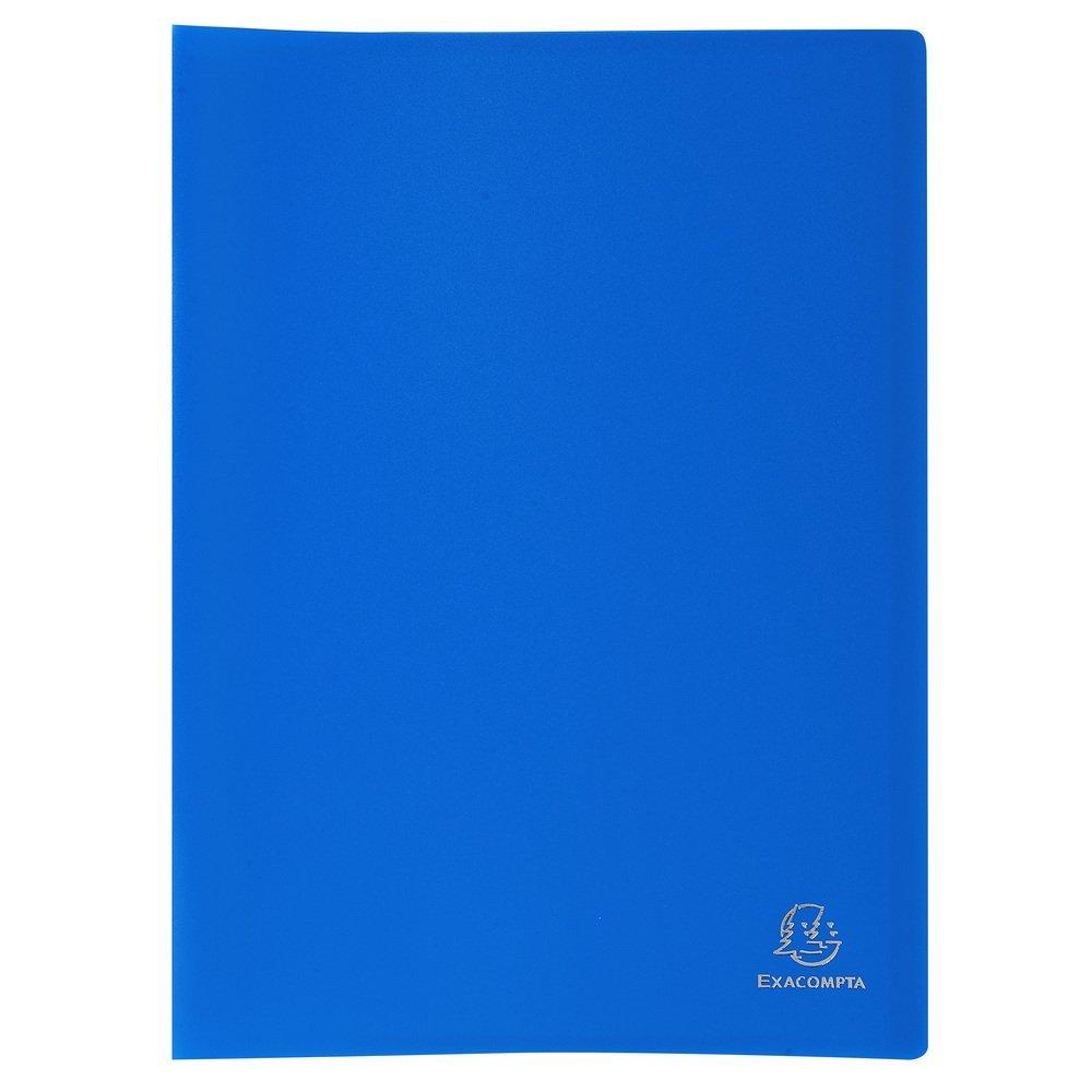 Exacompta 80 Pocket Display Book - Blue OfficeCenter 8582E