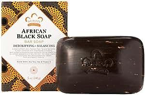 Nubian Heritage African Black Soap, 5 oz (4 Pack)