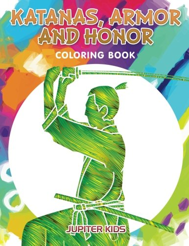 Katanas Armor Honor Coloring Book