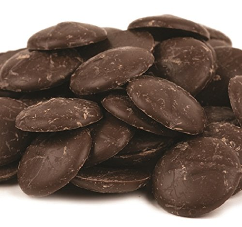(Merckens Cocoa Dark Chocolate Flavored Coating, 5 lbs. )