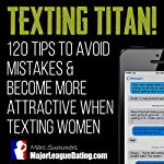 Texting Titan!: 120 Tips to Avoid Mistakes & Become More Attractive When Texting Women | Marc Summers