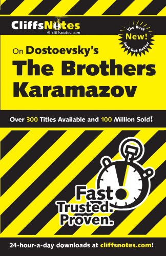 CliffsNotes on Dostoevsky's The Brothers Karamazov, Revised Edition (CLIFFSNOTES LITERATURE)