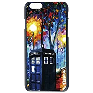 Police Box Design Hard Back Case Patterned Cover Back Skin For Apple iphone 6 4.7G Plus by Alexism Size132