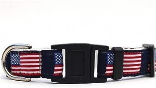product image for Diva-Dog ~ Surf Cat 'Stars & Stripes' Break-Away Cat Collar