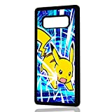 pokemon protective phone case - ( For Samsung Note 8 , Galaxy Note 8 ) Durable Protective Soft Back Case Phone Cover - A11389 Pokemon Pikachu