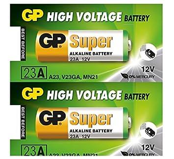 HS unidades de - pilas alcalinas GP23AE A23 12 V: Amazon.es ...