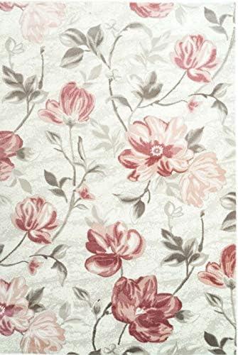 Ladole Rugs Floral Pattern Area Rug Living Room Bedroom Entrance Hallway Carpet