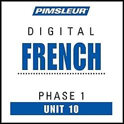 French Phase 1, Unit 10