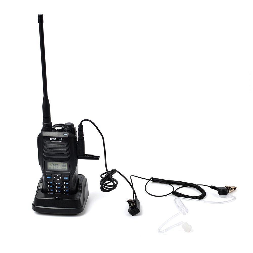Amazon.com: TC-589 Dual Band Two Way Radio VHF UHF Walkie Talkie 10W High Power Amateur Handheld Transceiver Dual Display Ham Radio with 2pin Air Acoustic ...