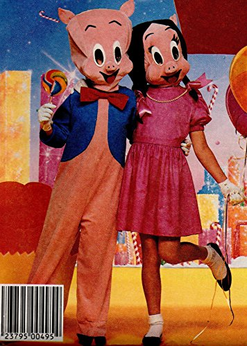 (McCalls 2746 Adult Porky Pig and Petunia Pig Costume Sewing Pattern Adult Size Medium Chest)