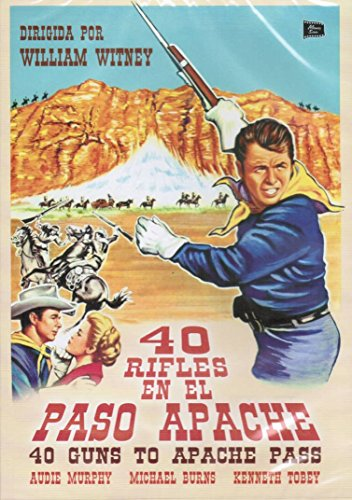 (40 Guns to Apache Pass ( Forty Guns to Apache Pass ) [ NON-USA FORMAT, PAL, Reg.0 Import - Spain ])