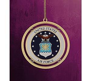 ChemArt Military Keepsakes Air Force Christmas Ornament