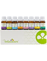 Premium Essential Oils Aromatherapy Kit, 8 10ml bottles Great as Diffuser Oil for an Aromatherapy Diffuser, Bath Bombs, lotion, soap making. Perfect Gift Set. Lavender, Peppermint, Grapefruit, Lemon.