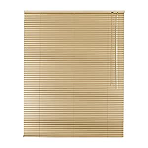 Alta calidad Rolloworld–Estor persiana (aluminio aluminio 55x 120cm/55x 120cm en color beige persiana (Incluye 2unidades Soportes/R22711102Soporte portaequipajes–derecha y/persiana (Ventana Easy & Fix montado en