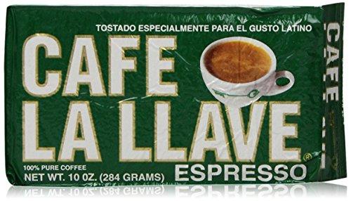 Cafe La Llave Espresso Brick, 10 Ounce