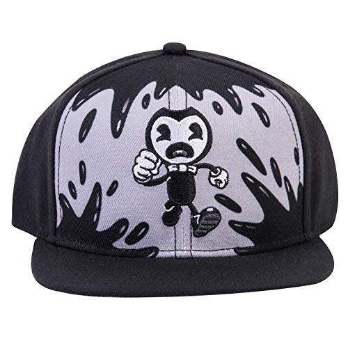 Bendy and the Ink Machine Hat - Black and White Bendy hat - Bendy Snapback Hats (Nightmare Run)