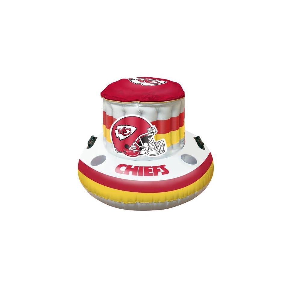 BSS   Kansas City Chiefs NFL Beach/Pool Inflaitable Floating Cooler