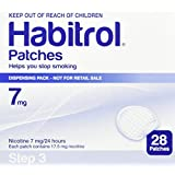 Novartis Nicotine Transdermal System Stop Smoking Aid Patches - 28 Each (Step 3-7 Mg)
