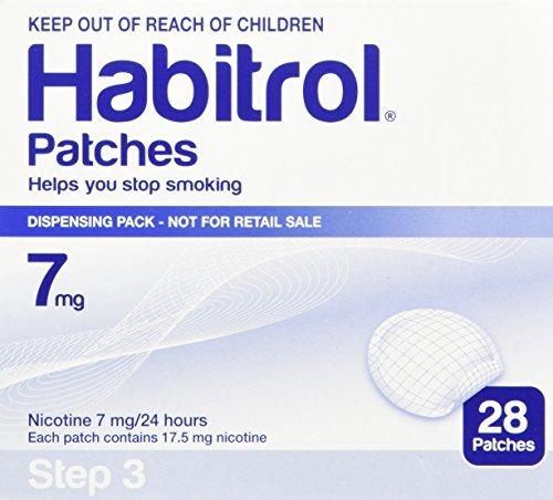 Novartis Nicotine Transdermal System Stop Smoking Aid Patches - 28 Each (Step 3 - 7 -