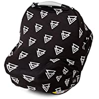 Stretchy 4-in-1 Carseat Canopy | Nursing Cover | Shopping Cart Cover | Infini...