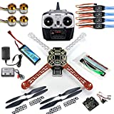 QWinOut DIY 2.4G 6CH KK V2.3 F450 Flamewheel RC Quadcopter 4-Axle UFO Unassembly Kit RTF/ARF Basic Drone