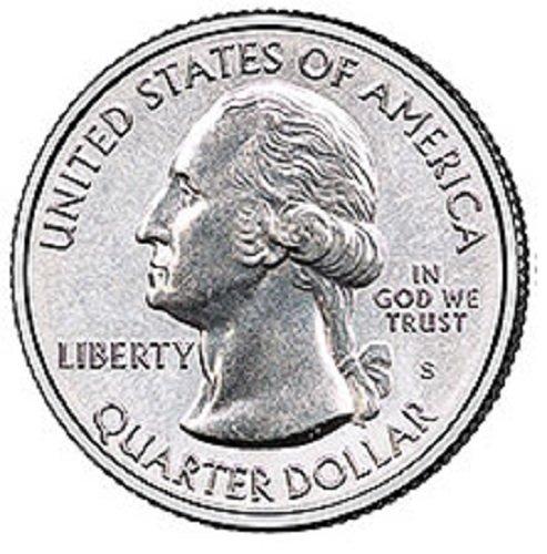 2018 S BU National Park Quarter 5 Coin Set Uncirculated