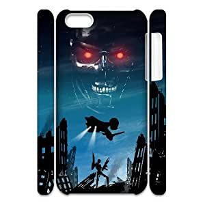 HXYHTY Design Case of The Terminator Phone 3D Case For Iphone 5C [Pattern-6]