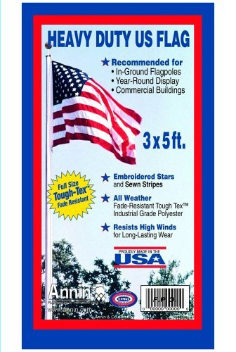 Annin #182 3' x 5' Tough-Tex US Flag