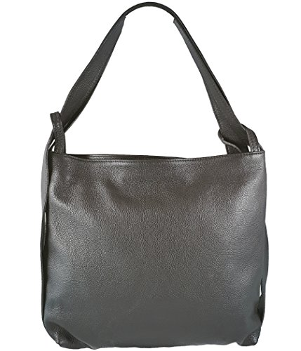 Italy Mujer Gris Bolso Oscuro Mochila In Para Freyfashion Made qwOTEwp