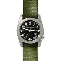 Bertucci A-2T Classic Field Watch Black/Ti-Forest Band 12122