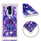 LG G7 Case, LG G7 ThinQ Case, Love Sound Flowing Liquid Floating Fashion Bling Glitter Love Heart Soft TPU Bumper Shockproof Protective Phone Case Cover for LG G7 / LG G7 ThinQ - Dream Catcher