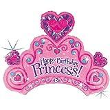 Happy Birthday Princess 34″ Mylar Balloon Tiara, Health Care Stuffs