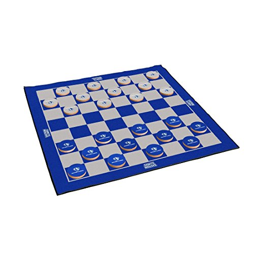 Victory Tailgate Eastern Illinois University Panthers 2-in-1 Giant Checkers & All Weather (Illinois University Tailgate Mat)