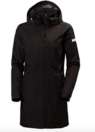 Helly Hansen Women's Aden Waterproof Breathable Hooded Long Rain Jacket