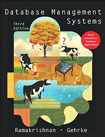 Database Management Systems (text only) 3rd (Third) edition by R. Ramakrishnan byJ. Gehrke (Database Ramakrishnan)