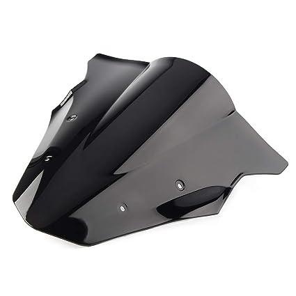 Desconocido Parabrisas de Motocicleta Doble Burbuja para ...
