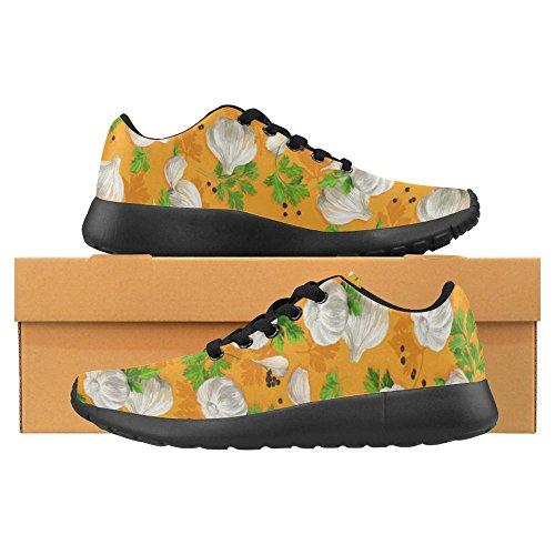 InterestPrint Womens Jogging Running Sneaker Lightweight Go Easy Walking Comfort Sports Running Shoes Multi 6 I1l240b