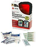 First Aid Only American Red Cross Emergency Preparedness W/first Aid Kit, Soft Case (Pack of 2)