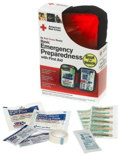 First Aid Seulement Croix-Rouge américaine de la Protection civile W premier Kit / de l'aide, Soft Case (Pack de 2)