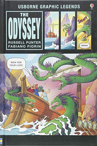 The Odyssey (Usborne Graphic Legends)