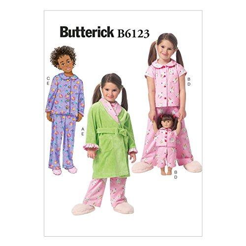 Mccall Pattern Butterick Patterns B6123 Children's/Girls'...