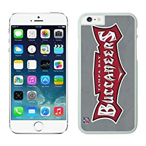 Tampa Bay Buccaneers iPhone 6 Plus NFL Cases 24 White 5.5 Inches NIC13477